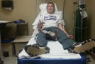 Student experiences traumatic skiing accident
