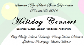 Holiday Band Concert Live Stream