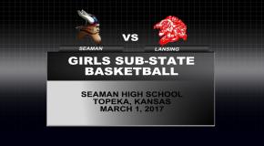 Girls Sub-State Basketball vs Lansing